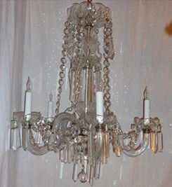 French-Style 5-Light Chandelier, 27 H X 21 W